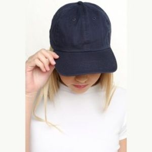 Brandy Melville blue baseball cap